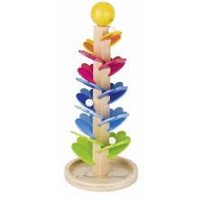 Arbre- pagode  en bois mélodieux, star de la méthode Montessori