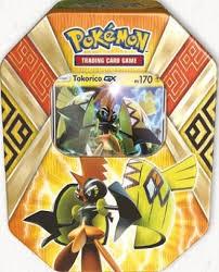 Pokebox  cartes Pokemon boîte jaune