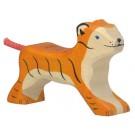 Jouet Bébé Tigre en bois