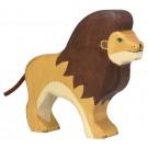 Jouet Lion en bois