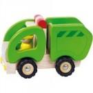 Camion poubelle en bois bien solide