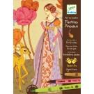 Loisirs créatifs Djeco Feutres pinceaux Princesses de contes