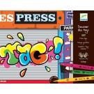Loisirs créatifs Djeco Feutres pinceaux  dessiner des tags