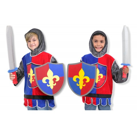 Déguisement  complet de chevalier du Moyen-Age