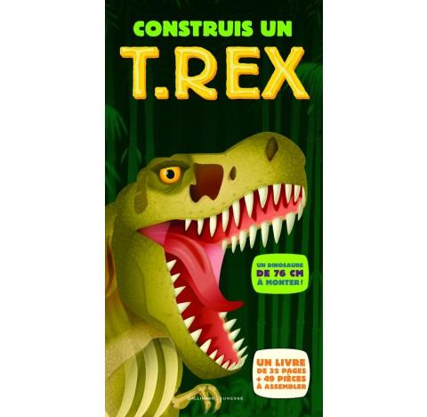 Construis un  dinosaure T-Rex