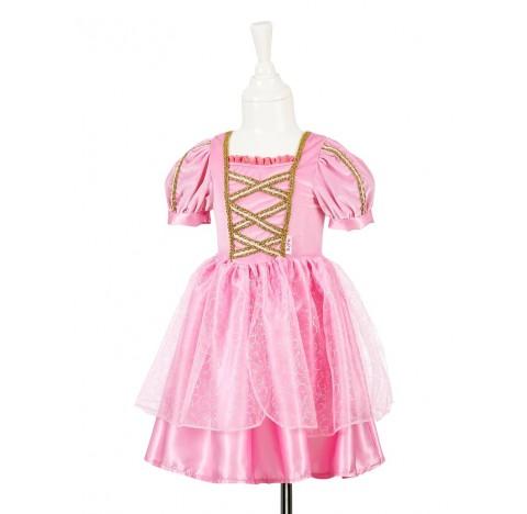 Robe de déguisement de princesse roses à paillettes