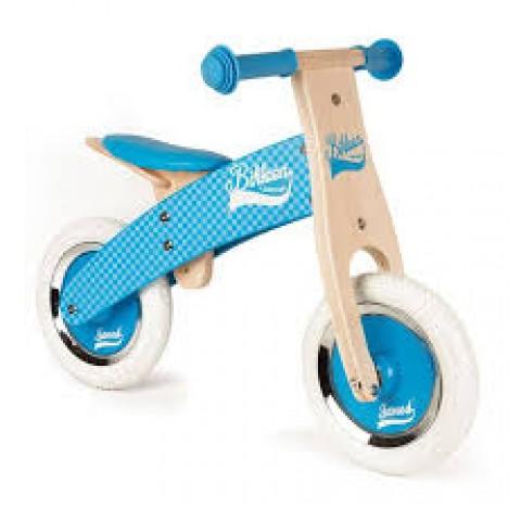 """Ma première draisienne vélo sans pédale  """"little Bikloon""""  bleu"""