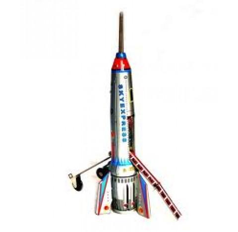 Fusée Skyexpress en métal