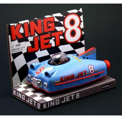 """Voiture à friction future  car """"King jet 8"""" bleue"""