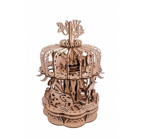 Carrousel Mr.PLaywood maquette articulée 3D à construire.