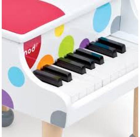 """Piano  à queue en bois """"Confetti"""""""