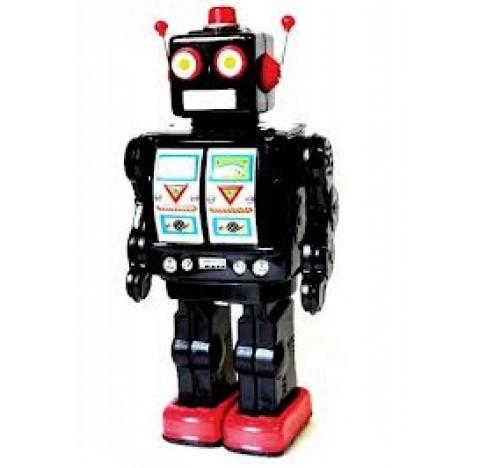 Robot Electron NOIR, avec sons et lumières