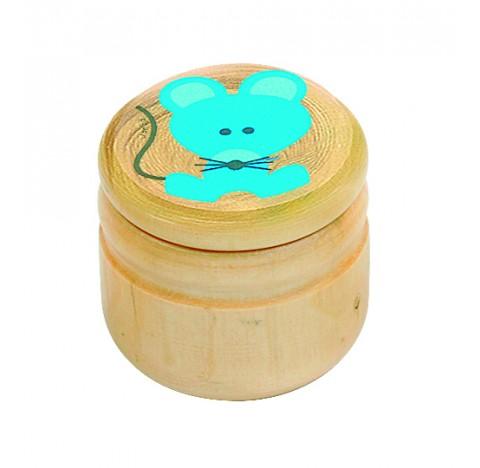 Boîte à dents Souris Bleue