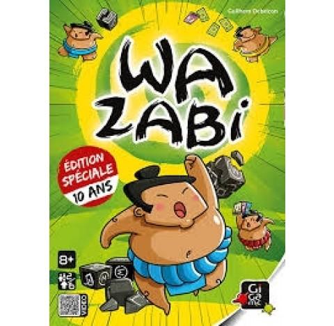 Wazabi, le jeu qui arrache! Edition spéciale 10 ans!