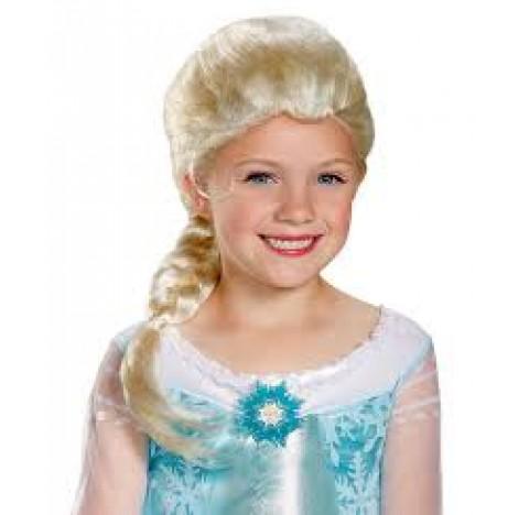 Perruque d'Elsa, la reine des Neiges