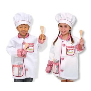 Déguisement de super chef cuisinier/ cuisinière