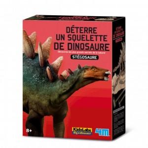 Kit de fouille dinosaure, je découvre les Stégosaures