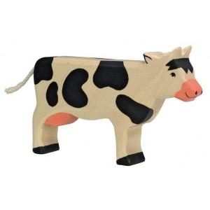 Jouet Vache en bois