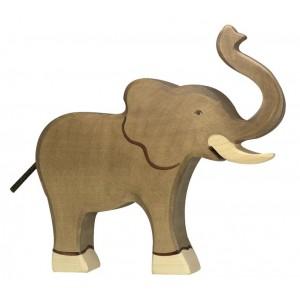 Jouet Eléphant en bois