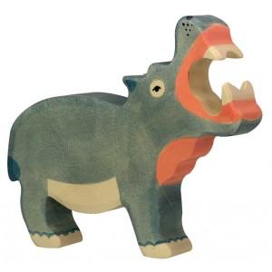 Jouet Hippopotame en bois
