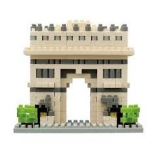 Nanoblock série monuments célèbres,l'Arc de Triomphel de Paris