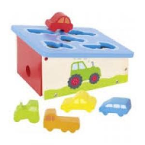 Boîte à formes voitures