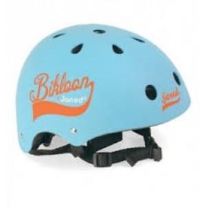 casque bleu pour draisienne et vélo