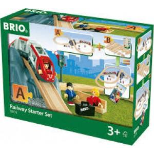 Circuit de train Brio en 8 avec tunnel