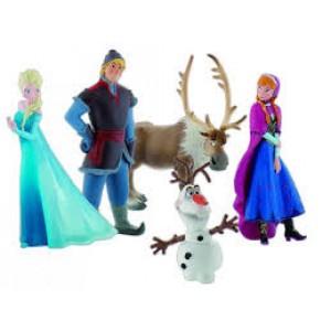 Ensemble de personnages de la Reine des Neiges de Disney