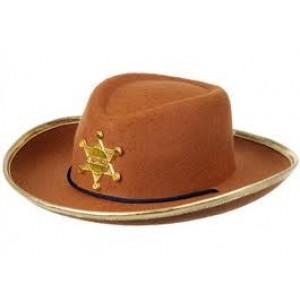 Chapeau de cow boy  Chuck le sherif