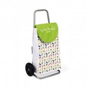 Chariot de course - caddy pour épicerie, fruits... Green Market