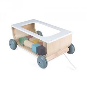 Chariot de cubes Sweet cocoon à tirer