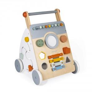 Chariot multi-activités premier âge pour enfant à partir de 1 an.