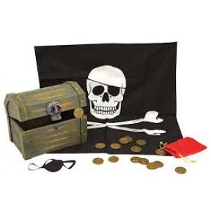 Le coffret trésor du pirate