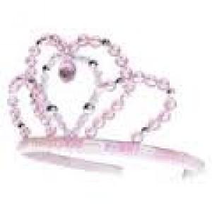 couronne  diadème de princesse avec perles