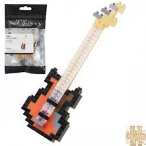 Nanoblock la guitare  basse électrique
