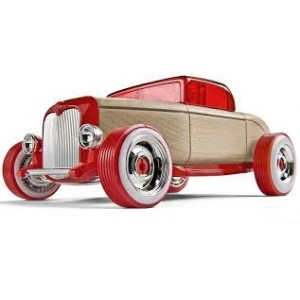 Voiture Design  Automoblox Hot Rod  coupé rouge