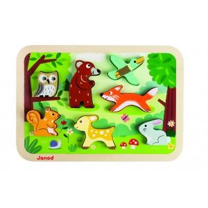 """Puzzle encastrement """"Forêt"""""""