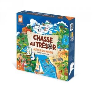 Chasse au trésor  Autour du monde, jeu de stratégie et de rapidité