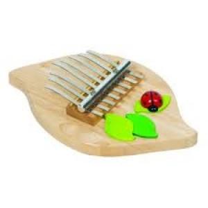 Kalimba instrument à musique  traditionnel en bois