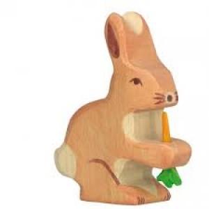 Jouet Lapin en bois