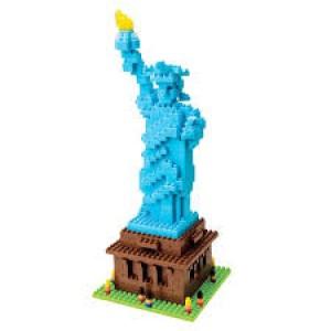 Nanoblock série monuments célèbres, la Statue de la Liberté à New York