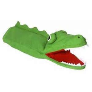 Marionnette  Grand méchant  monstre vert