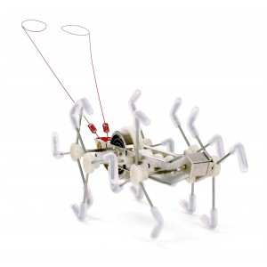 """Robot insecte 1000 pattes """"MXYKikker"""" silver"""
