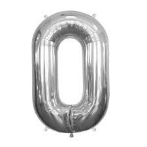 Gros ballon  gonflable à l'unité chiffre 0