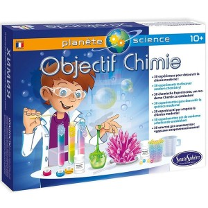 Objectif Chimie, le coffret Sciences pour enfant, made in France