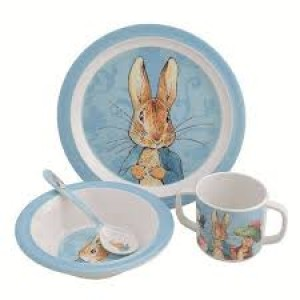 Mon premier set de couverts  complet Peter Rabbit