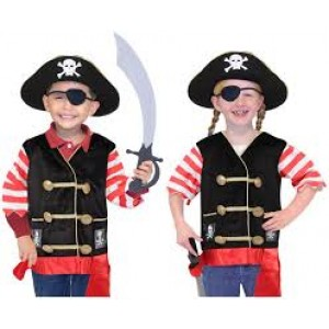 Déguisement de chef des pirates