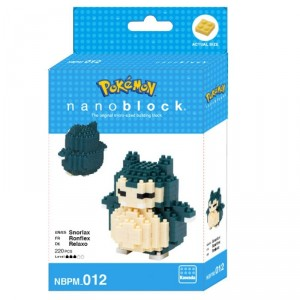 Jeu de construction Nanoblock Pokemon X Ronflex