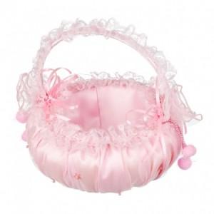 Sac de bal rose de princesse, forme ronde comme un bonbon